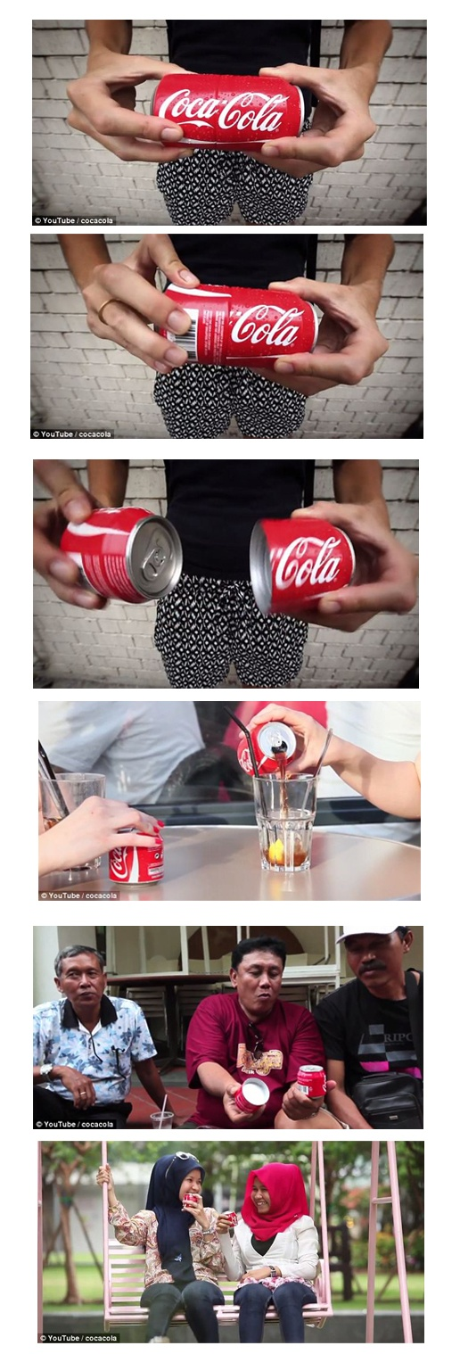 Coca Cola new packaging design